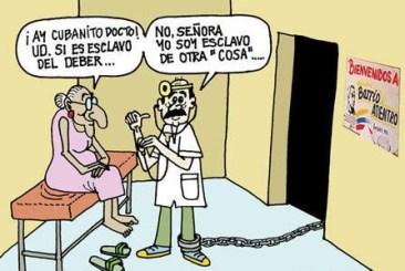 """「キューバ人のお医者さん、あなたは義務の奴隷となっておられるんですね」「奥さん、違うんです。私は""""別のもの""""の奴隷なんですよ」"""